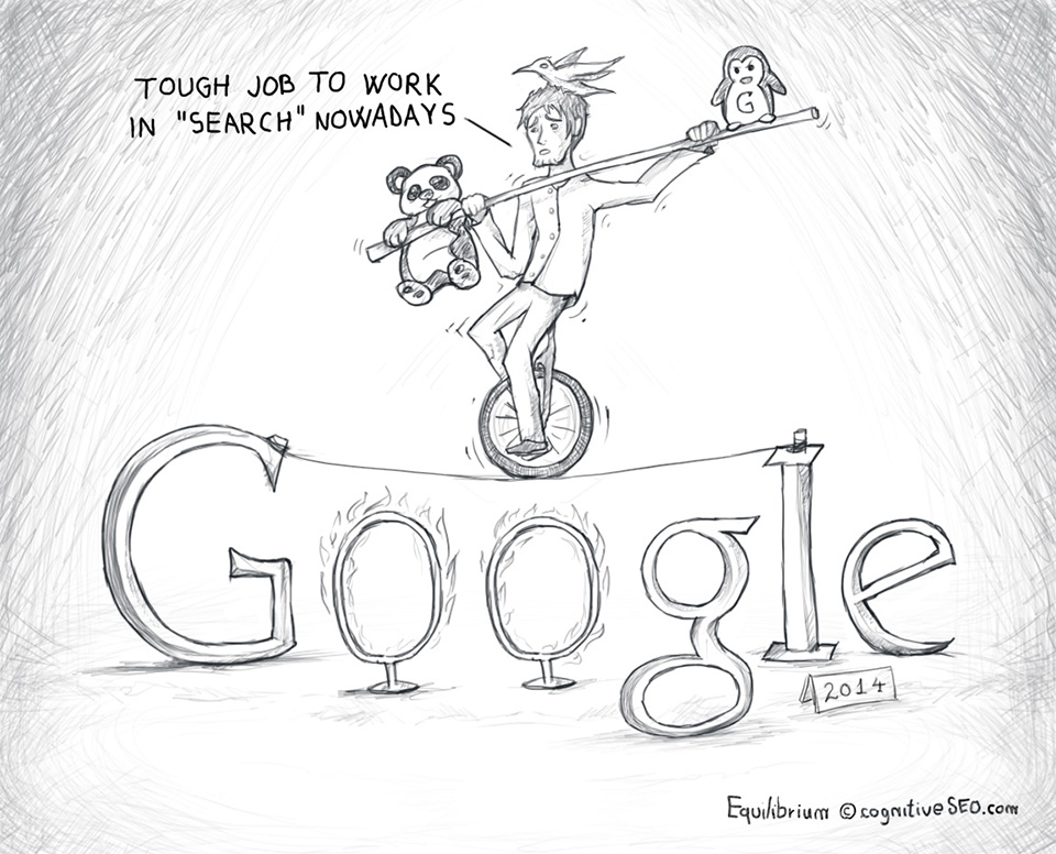 """Google Equilibrium - Tough Job to Work in """"Search"""" Nowadays!"""