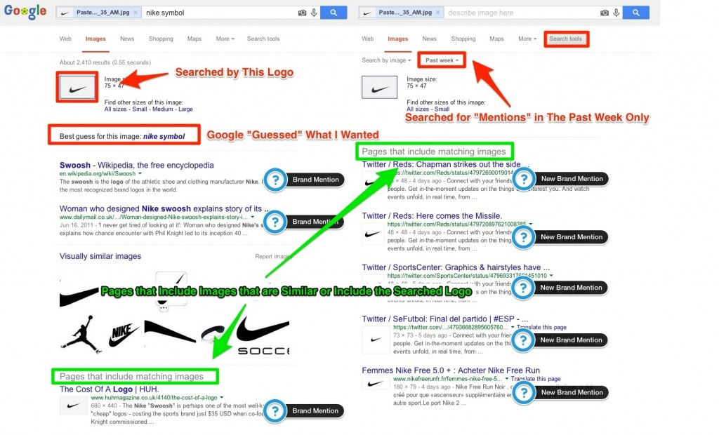 Google Image Search Brand Mentions