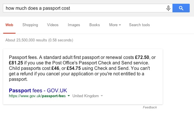 How Much Does A Passport Cost