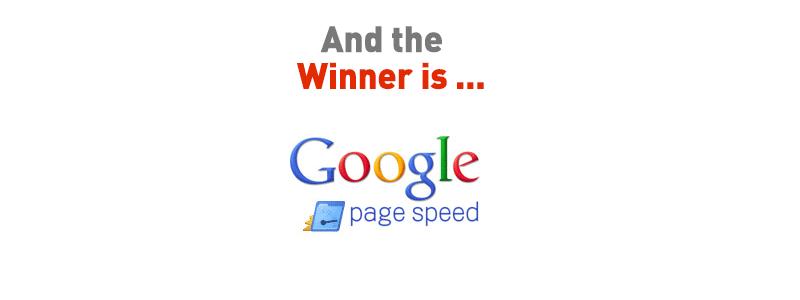 Nugalėtojas Pagespeed SEO