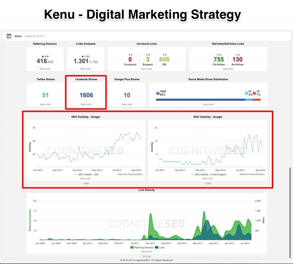 Kenu Digital Marketing Strategy