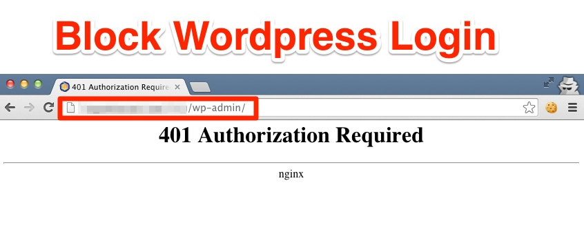Block WordPress Login