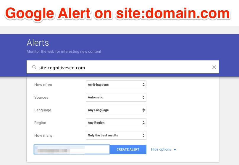 """Google Alert"""
