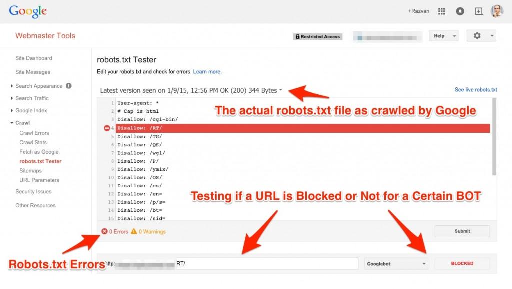 robots-txt-gwt-tester