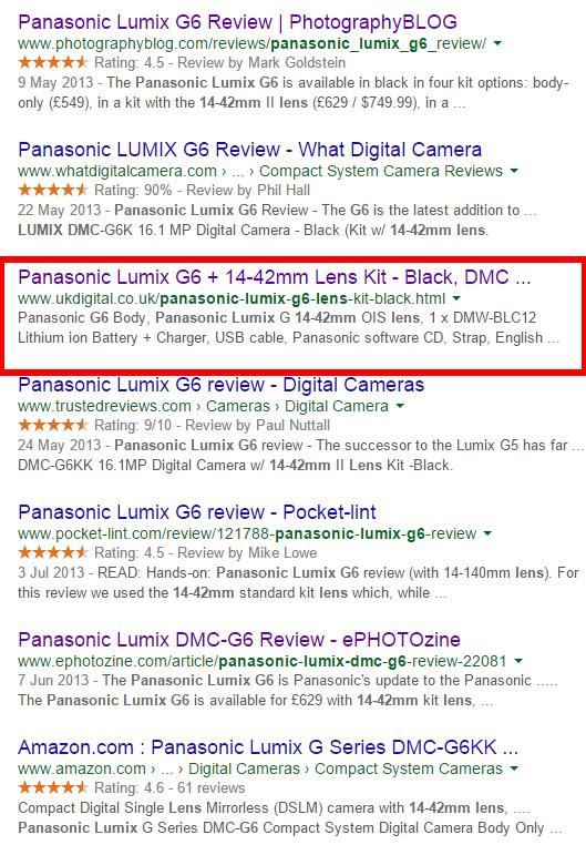 """""""Google"""" paieškos rezultatų 2 dalis"""