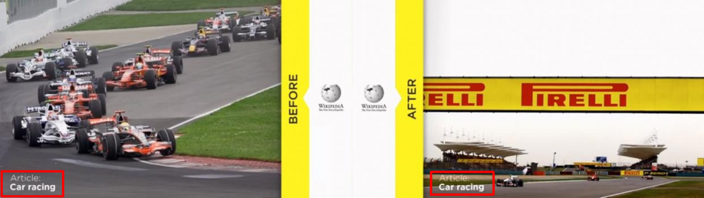 Before After Car Racing Article on Wikipedia