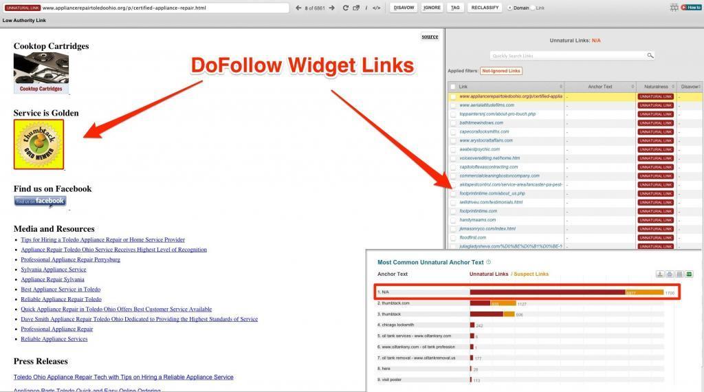 thumbtack_dofollow_widget_unnatural_links