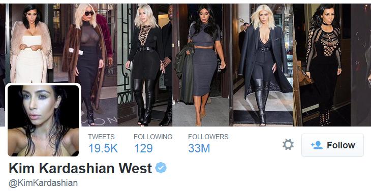 "Kim Kardashian ""Twitter"""