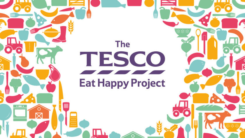 Tesco Eat Happy Project