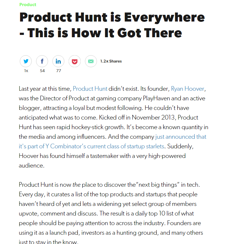 Product Review - Product Hunt Review