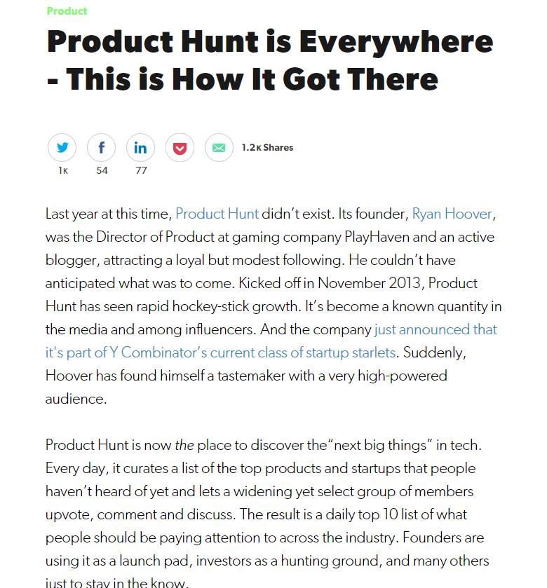 """Produktų apžvalga - """"Product Hunt"""" apžvalga"""