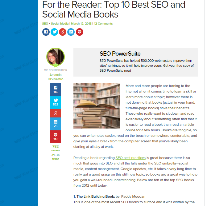 Reference Books in Your Market - Best SEO and Social Media Books
