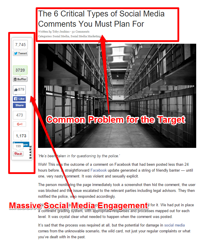 Strategies For Common Problems - Critical Types of Social Media Comments