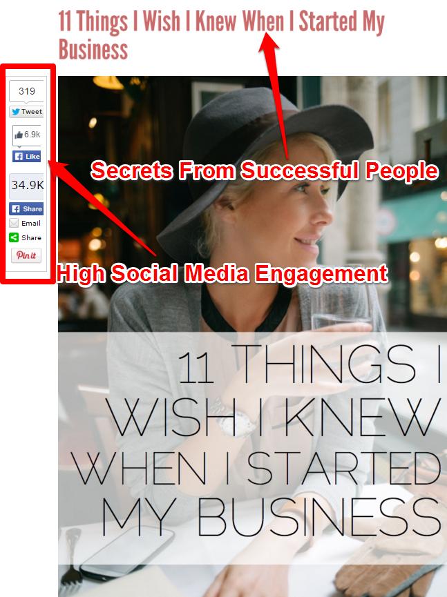 Sėkmės istorijos - dalykai, kurių norėčiau žinoti, kai pradėjau savo verslą