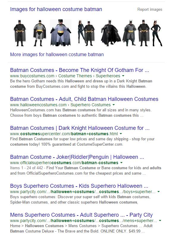 Halloween Batman Costume