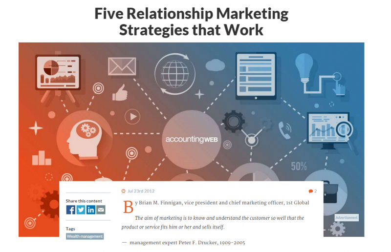 Relationship Marketing Strategies that Work