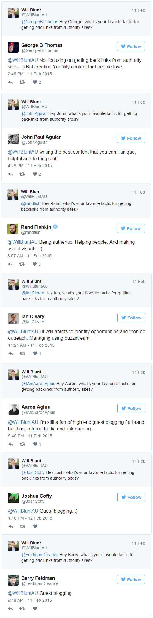 15 Ways to Get Backlinks That Won't Kill Your Search Traffic Will Blunt Twitter