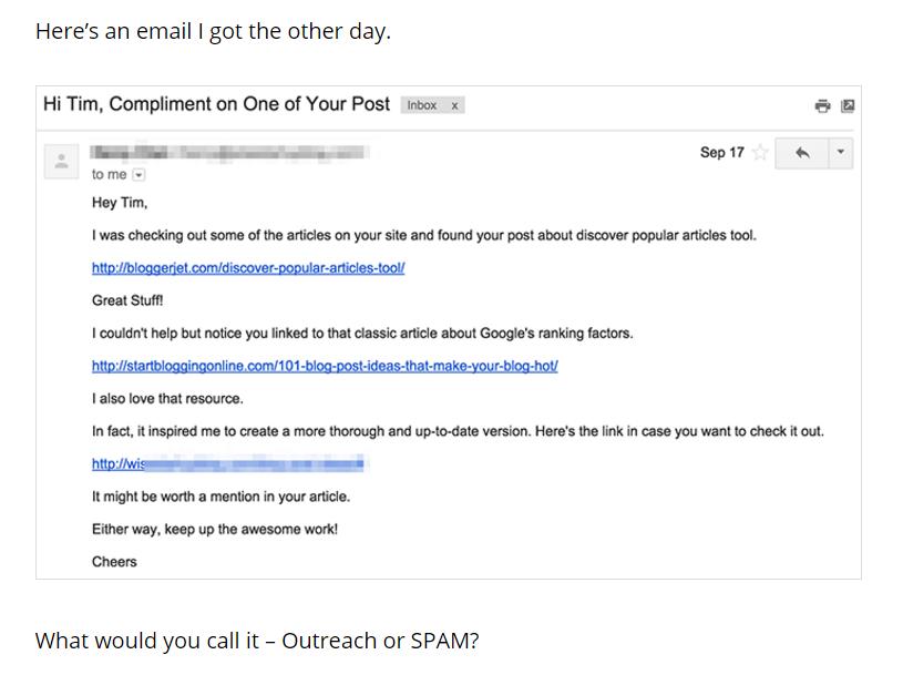 Ahrefs Email Outreach