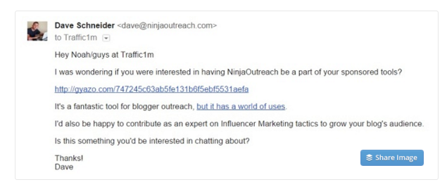 How to Write a Perfect Cold Outreach Email - Example
