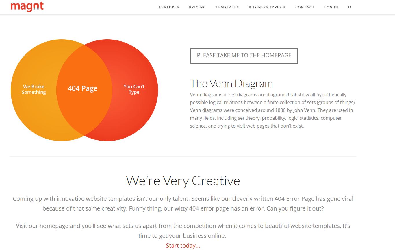 Magnt - 404 Page - Venn Diagram