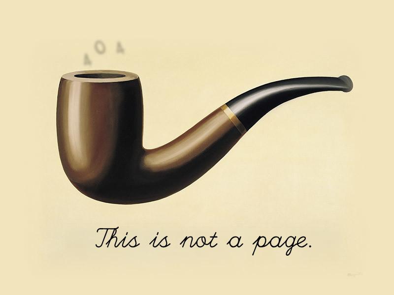 Wprry Dream - 404 Page - Ceci N'est Pas Une Pipe