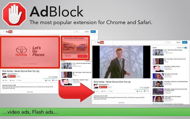 """""""AdBlock"""" plėtinys"""