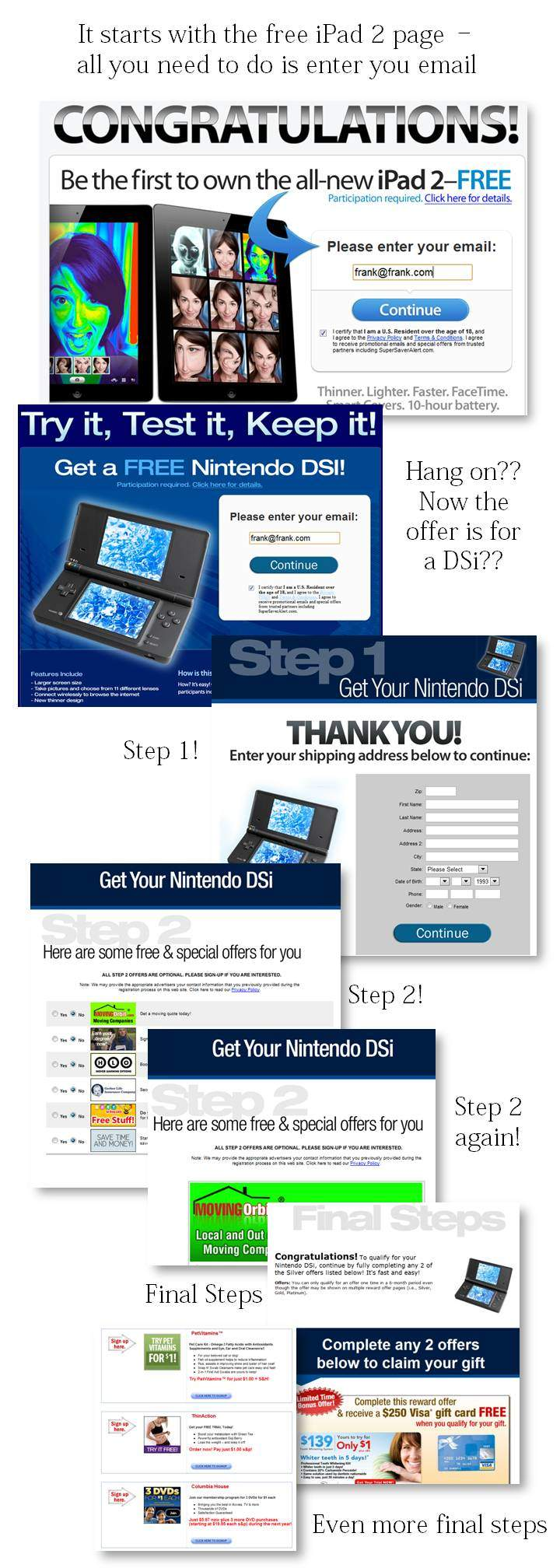 Avoid Affiliate Spam. Only Use the Emails of Your Contacts for What They Trusted You to - iPad example