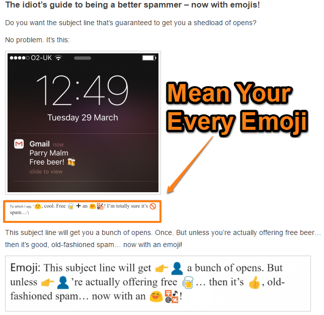 53 untapped ways to improve your email open rates thebizhelper use emojis in the subject line when its appropriate failure example thecheapjerseys Choice Image