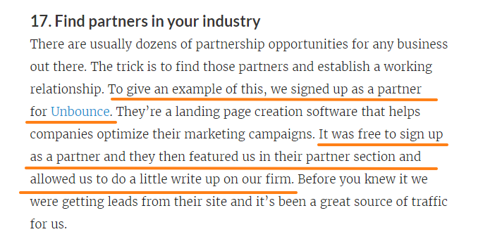 Find Partners in Your Industry