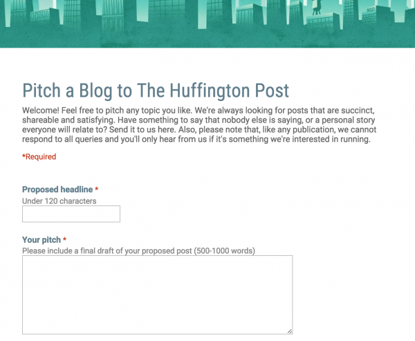 Get a Column on an Industry Publication