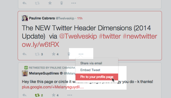 Pin Tweets that Address Your Reader's Needs, Not Your Marketing Strategy
