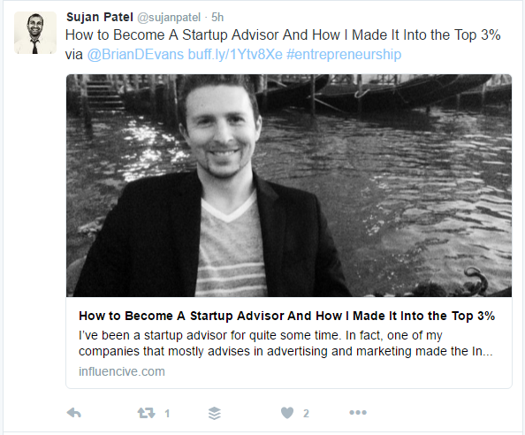 Tag Influencers on Twitter to Let Them Know You Mentioned Them