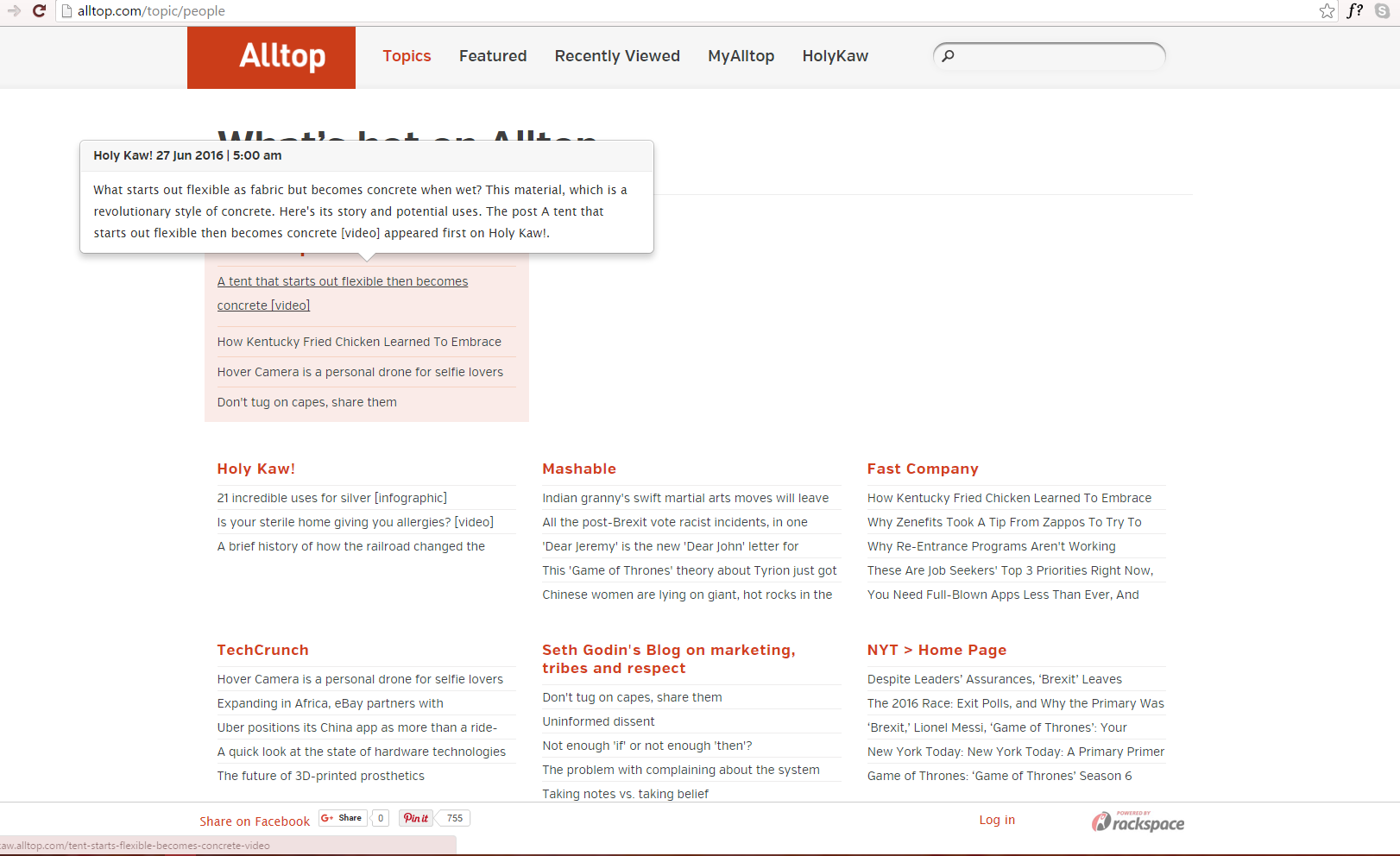Use Alltop (or Other Blog Aggregators) to Get Listed as an Authoritative Source