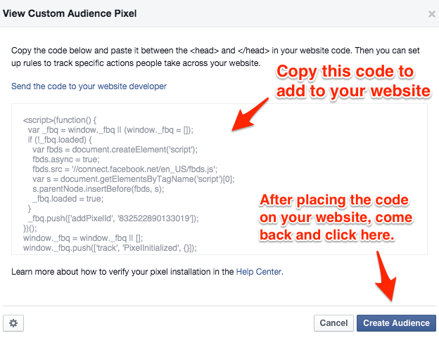 Use Retargeting to Drop Pixel on Users Who Engaged with Your Content