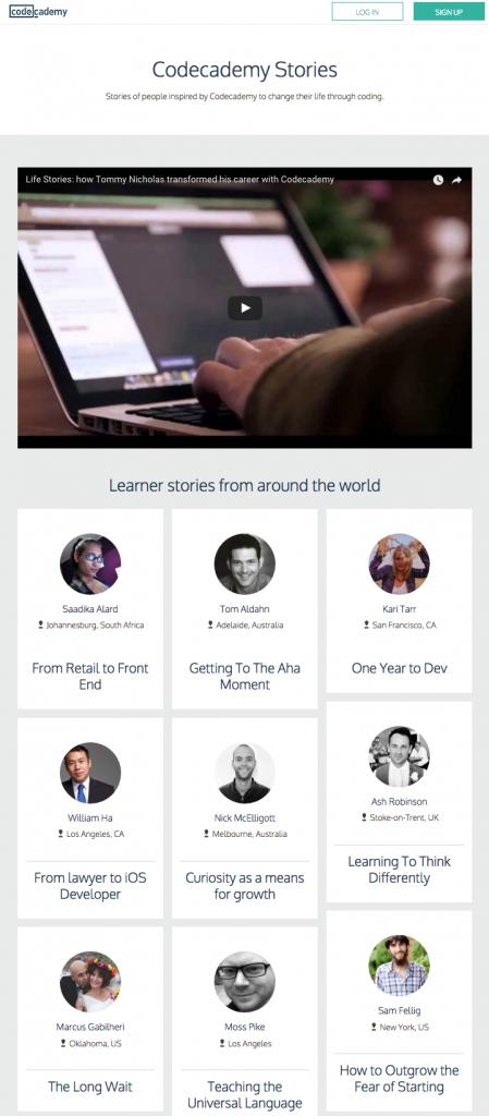 codecademy-testimonials-page