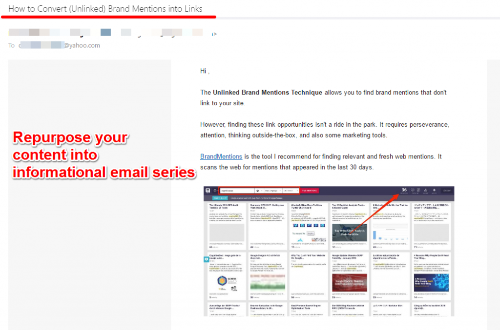 email series