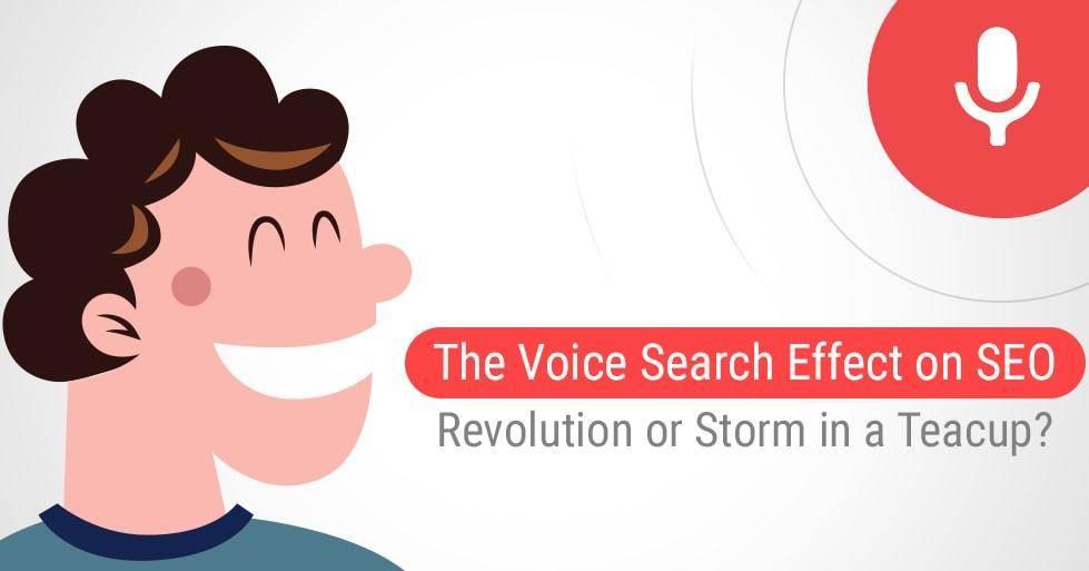 Paieškos balsu poveikis SEO