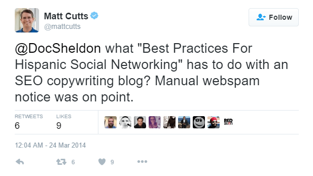 Matt Cutts about Spam Guest Post