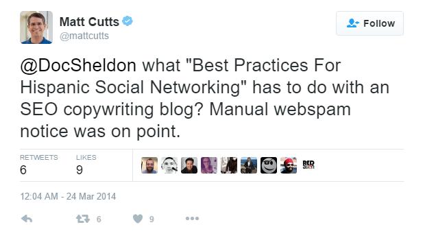 Matt Cutts à propos de Spam Guest Post