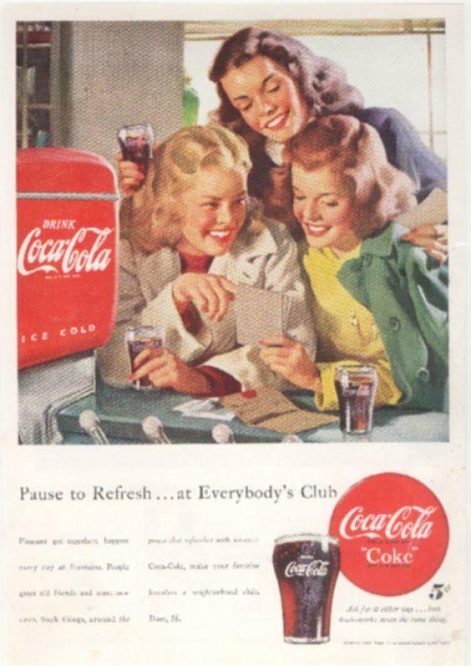 Coca Cola Bran Personality
