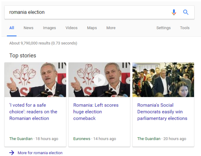 Top Stories from Google