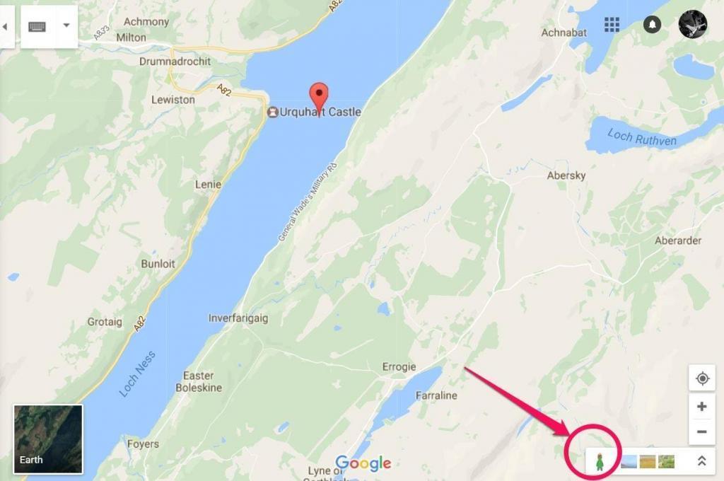 Loch Ness easter egg