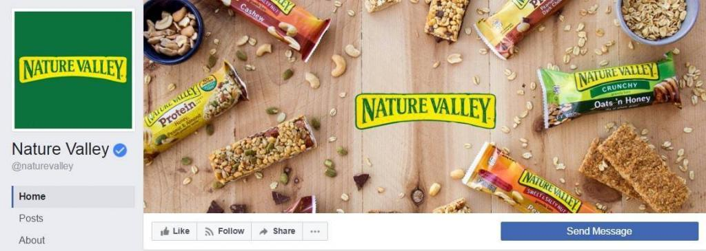 Nature Valley Facebook