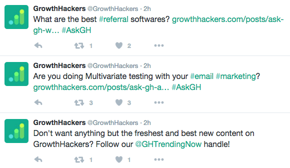 GrowthHackers example