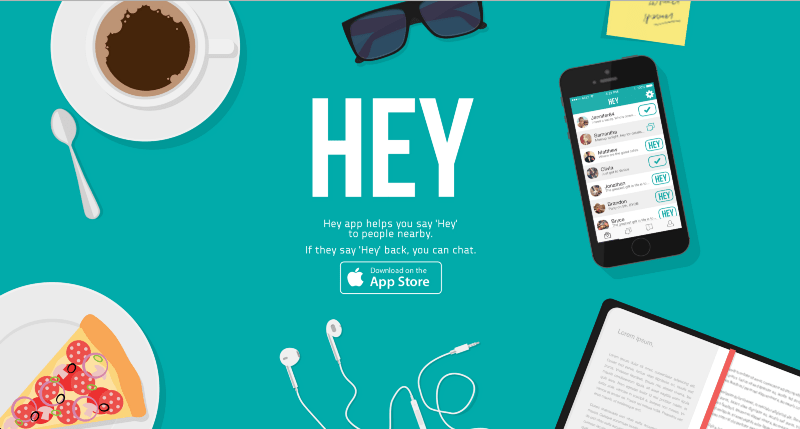 Hey mobile app
