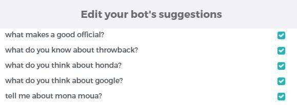 Artificial Intelligence Bot