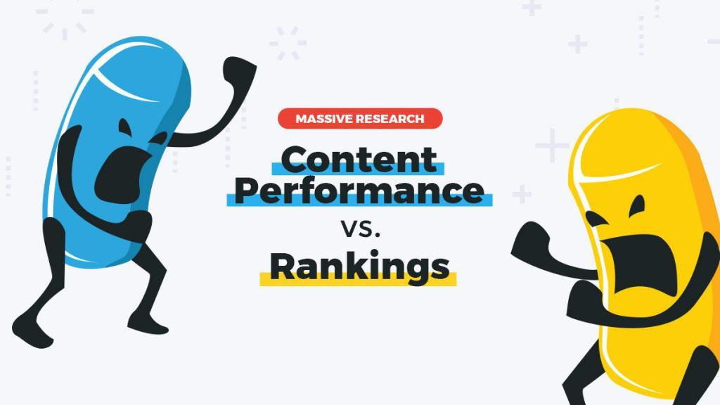Content Performance vs Rankings Research cognitiveSEO