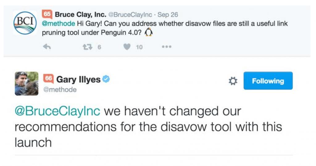 Gary Illyes disavow tool