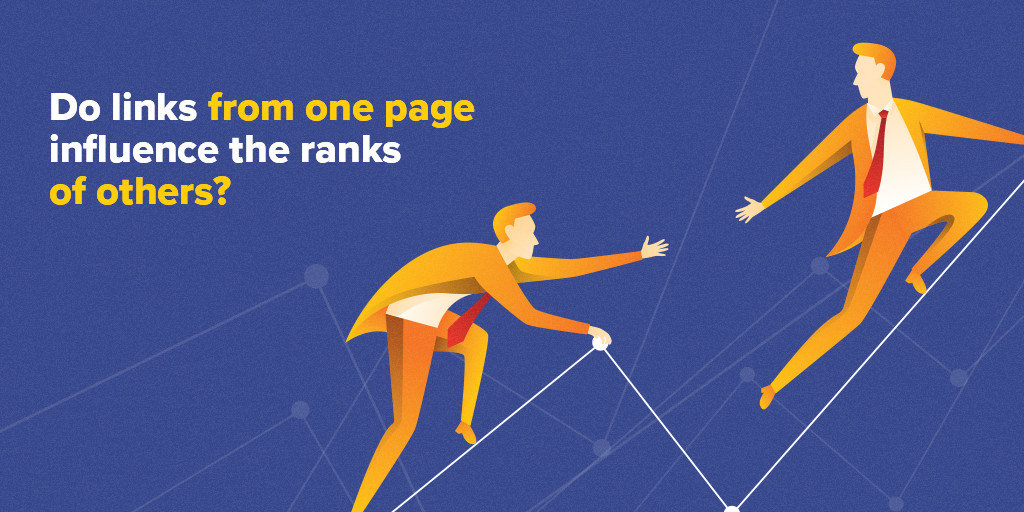 Do links from one page influence the ranks of others