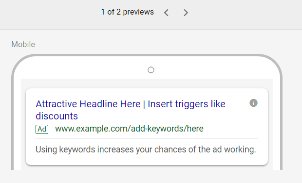 adwords local ad creation